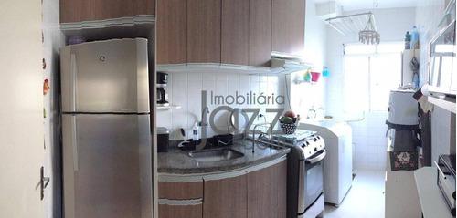 Apartamento Com 2 Dormitórios À Venda, 49 M² Por R$ 180.000,00 - Jardim Santa Maria (nova Veneza) - Sumaré/sp - Ap3303