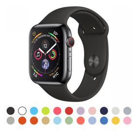 Pulseira Silicone Borracha Esporte Sport Apple Watch 1 2 3 4