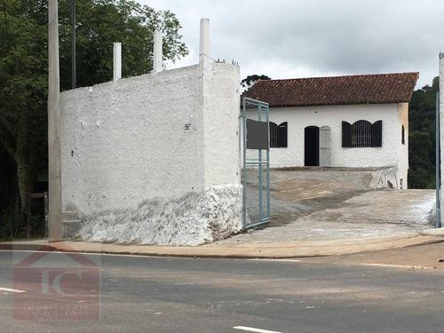 Galpão Para Alugar, 200 M² Por R$ 5.500,00/mês - Jardim Santa Paula - Cotia/sp - Ga0063