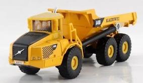 Caminhão De Minério Basculante Volvo Metal Kaidiwei Ho 1:87