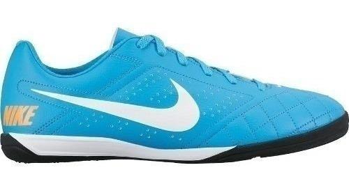 Tenis Nike Masculino Futsal Beco 2 Azul Claro Original