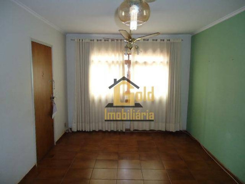 Apartamento Com 3 Dormitórios À Venda Ou Locação, 76 M²  - Jardim Paulistano - Ribeirão Preto/sp - Ap2427