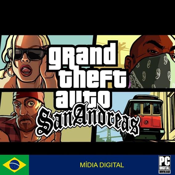 Gta San Andreas Pc Original Envio Digital Imediato!