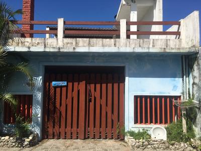 Sobrado Com 3 Dormitórios A 900mts Da Praia. Área Verde.
