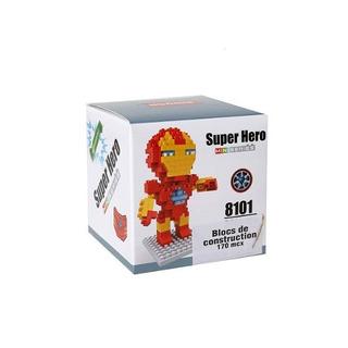 Ibobby 170 Pc Hero Building Blocks Iron Man 3 5 Pulgadas