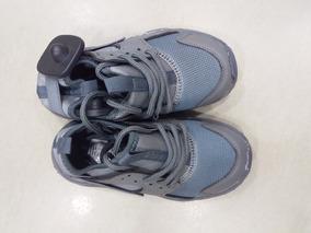 Gomas Para Niños Zapatos Deportivos Gris Y Azul