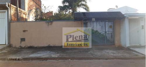 Casa Com 2 Dormitórios À Venda, 120 M²  - Jardim São Roque - Sumaré/sp - Ca4293