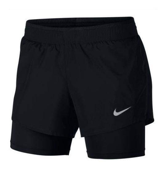 Shorts Nike Feminino 902283 2 In 1 10 K Original + Nf