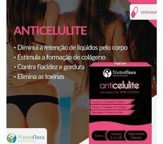 Anti Celulite - 500 Mg - 60 Cápsulas - Nutreflora