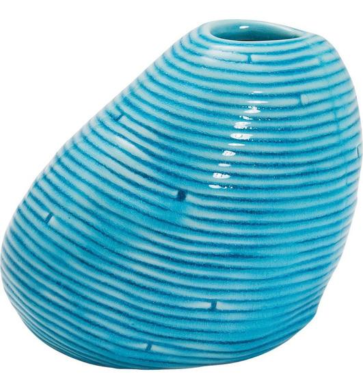 Florero Azul Water Rings 15 Kare (32231)