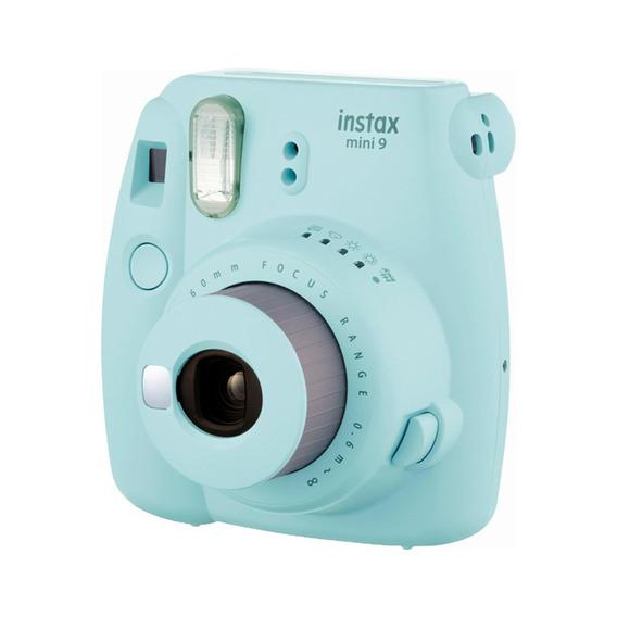 Câmera Instantânea Instax Azul Aqua Mini 9 Fujifilm