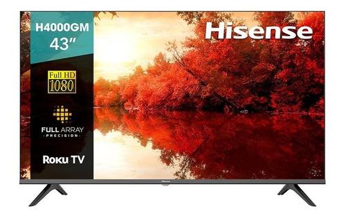 Pantalla Hisense De 43  Con Roku Tv Full Hd H4000gm