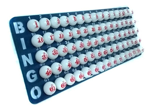 Tablero De Control, Balotas Fina Dos Lados Bingo Profesional
