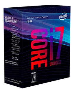 Procesador Intel Core I7 8700k Turbo 8th Generación S1151