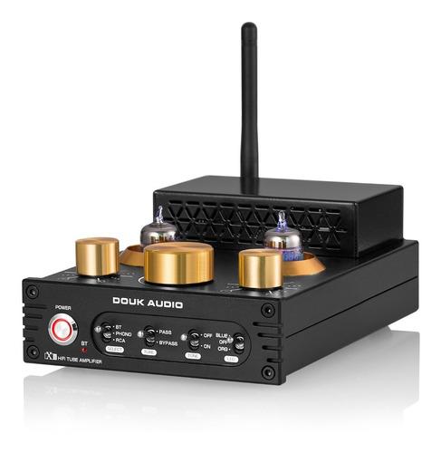 Amp X1 Hifi Bluetooth 5.0 Vacuum Tube Aptx-ll Phono Mm 160w