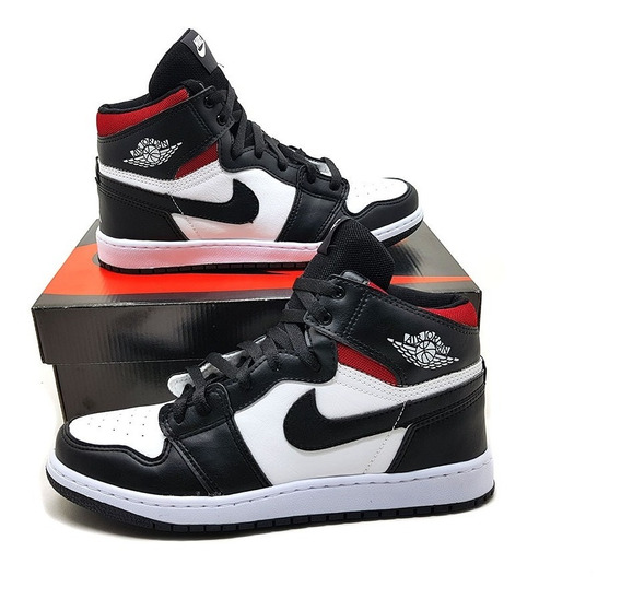 Tênis Cano Altor Jordan 1 Chicago Retro High 2019
