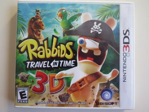 Rabbids Travel In Time 3d Nintendo 3ds - Mídia Física Usado