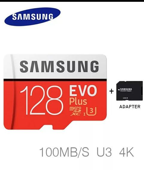 Cartão Micro Sd Samsung Evo 128gb Sdxc C/ Emablagem Original