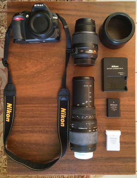 Dslr Nikon D3100 - Usada