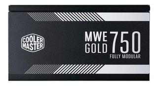 Fuente Cooler Master Mwe Gold 750w 80plus Gold Modular