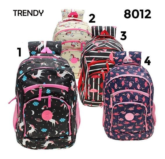 Mochila Escolar Trendy Mod.8012
