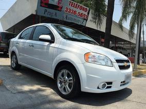 Chevrolet Aveo Lt Mt Equipado 4p 2011 Blanco. Llámanos!