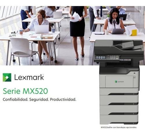 Multifunción Lexmark Mx521ade Laser-dúplex Integrado- 46ppm