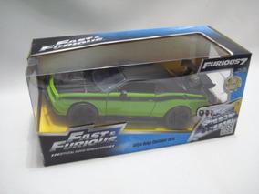 Mini Carrinho Dodge Challenger Srt8 Velozes E Furiosos 1//24