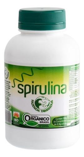 Imagem 1 de 2 de Spirulina Comprimido Orgânico 180g