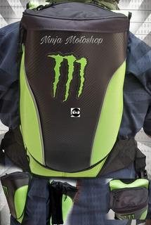 Mochila Monster Joroba Deportiva Impermeable Msi+envio Gra