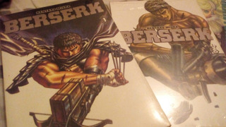 Berserk Vol 1 E 2 Panini Nova Edição Manga Hq Gibi