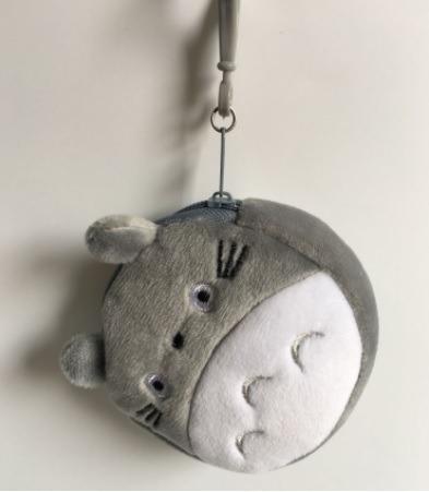 Totoro Mini Monedero Bolsa Cute Kawaii Peluche