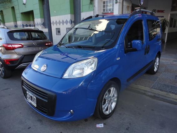 Fiat Qubo Dynamic 5 Ptas 2013 Azul Gnc 5° Impecable Estado