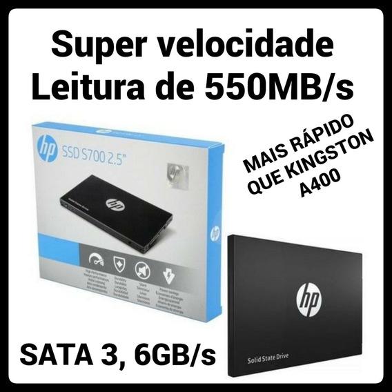Hd Ssd 250gb Hp S700 Sata 550mb/s 2,5 Novo Original