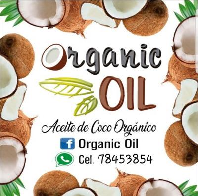 Aceite De Coco Orgánico Y Natural