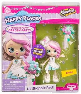 Shopkins Happy Places Lil Shoppie Pack Bridie - Princesa Pup