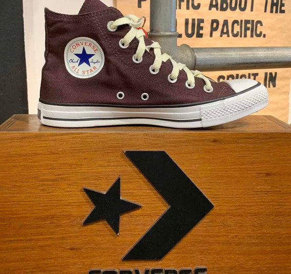 Botitas Converse All Star Color Purple 100% Originales