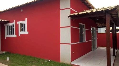 Imagem 1 de 11 de Casas Em Unamar Com 65mil De Entrada!