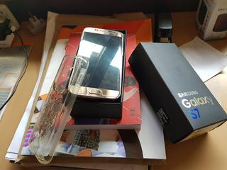 Samsung Galaxy S7 Dourado Original (trocar Bateria)