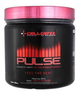 Pré-treino Pulse Limão 300g - Cellgenix