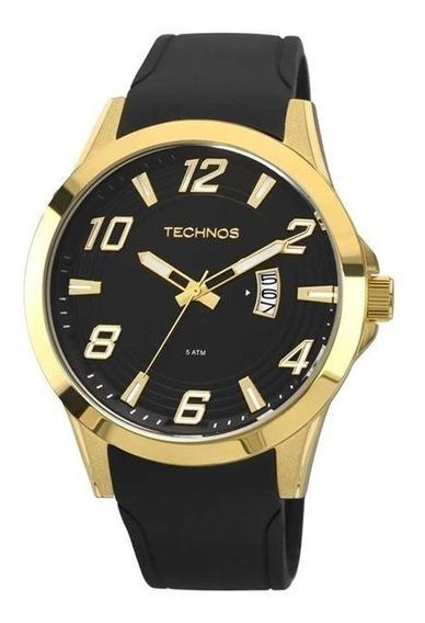 Relógio Technos Masculino Pulseira Silicone 2115kqa/8p