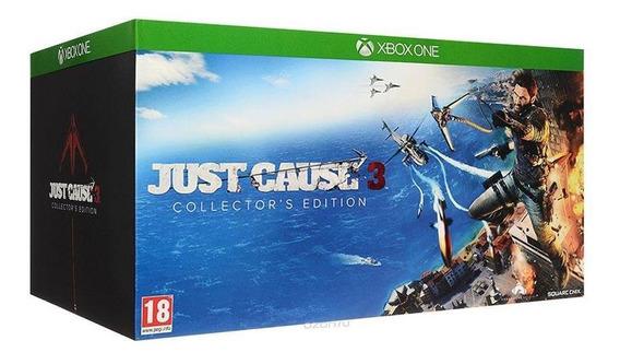 Just Cause 3 Collectors Edition Xbox One Mídia Física Novo