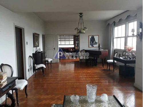 Apartamento À Venda, 4 Quartos, 1 Suíte, 2 Vagas, Flamengo - Rio De Janeiro/rj - 21421