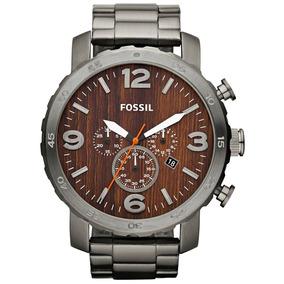Relógio Fossil - Fjr1355/z - Mostrador Madeira