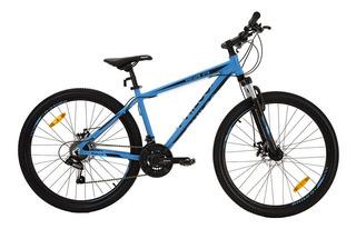 Bicicleta Mtb Philco Gmxa27 27,5 Escape 18 Celeste/negro