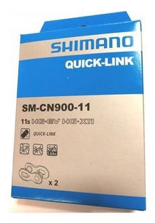 Eslabón Enganche Cadena Quick Link Bici Shimano Sm-cn900-11