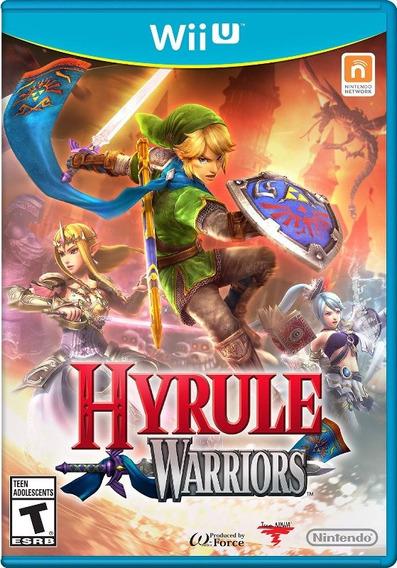 Wii U Hyrule Warriors - Mídia Física