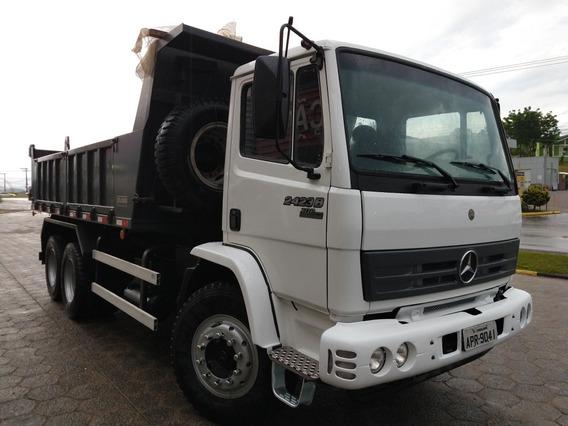 Mercedes-benz 2423/2726/2729 6x4 Caçamba Porta Lateral