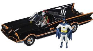Batman 1:24 Batimovil Clasico 1966 Con Figuras Original Jada