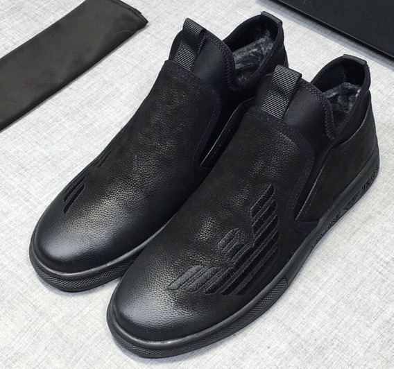 Zapatillas Giorgio Armani Sport Triple Black